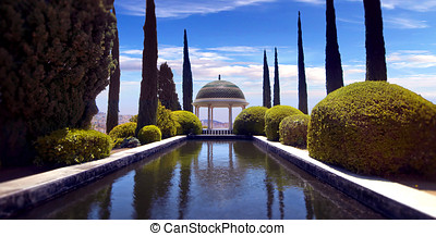 Conception garden, jardin la concepcion in Malaga Spain