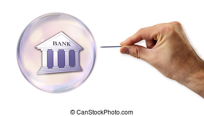 Banking and Credit Bubble about to explode by a needle