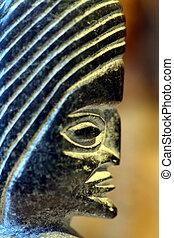 figure of a old culture in peru