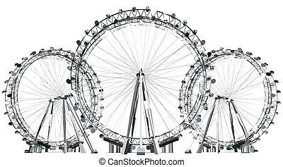 Carousel Field Silhouette