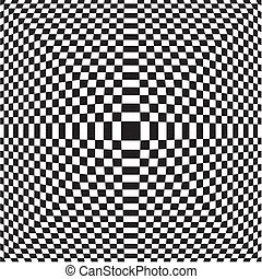 Black And White Chess Pattern Vector