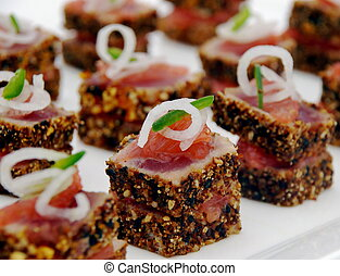 Tuna Sashimi 1 - Finger Food