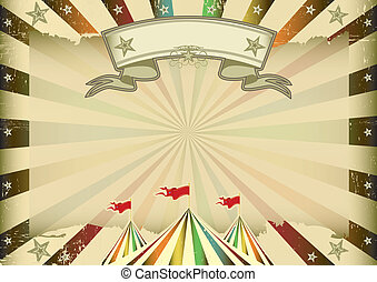 Horizontal multicolor circus - A horizontal multicolor...