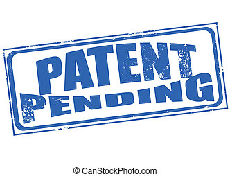 patent penging stamp - patent pending grunge stamp with on...
