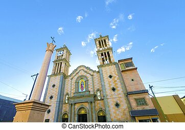 Catedral de Nuestra Senora de Guadalupe, Tijuana, Mexico -...