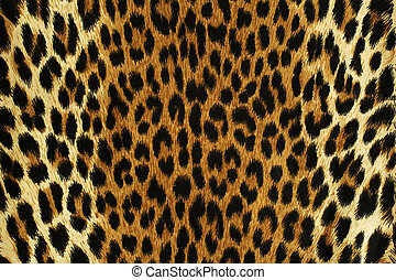 Black spots of a leopard - Close up black spots of a leopard...