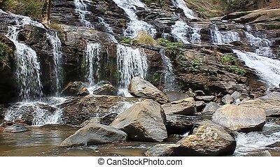 waterfall in Chiang Mai - Mae Ya waterfall in Chiang Mai