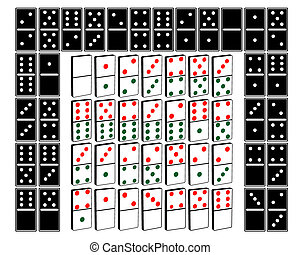 different kinds of domino