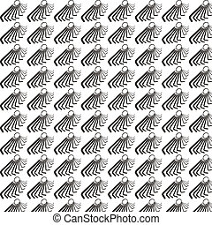Seamless pattern background of hex wrench - Seamless pattern...
