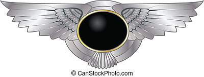 BADGE WITH WINGS