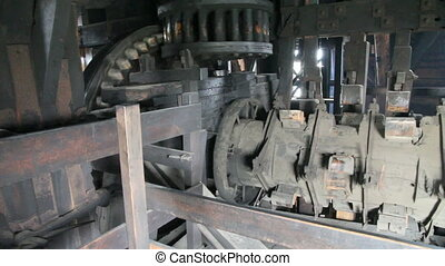 Windmill gear assembly - old vintage Windmills gear assembly...