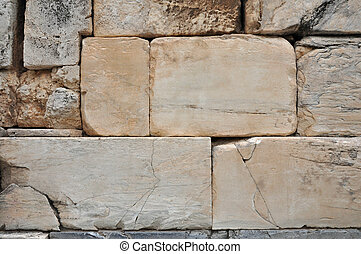 acropolis wall background