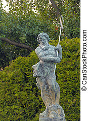 Poseidon Trident - Awesome Poseidon Statue with trident also...