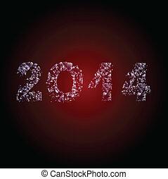 2014 broken glass - inscription broken glass 2014 calendar...