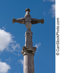 Medieval Pillory Stone Cross