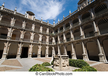 Alcala de Henares University. Madrid, Spain - Santo Tomas de...
