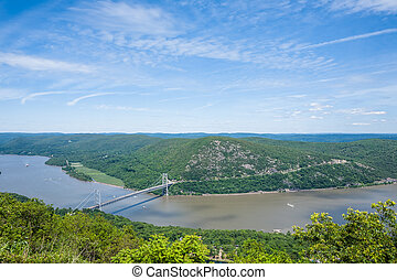 Hudson River - View of the Hudson River taken from Bear...
