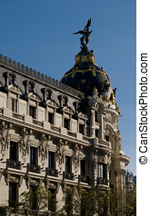 The Metropolis Building in Madrid, Spain - The Metropolis...