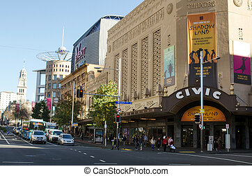 Auckland Civic Theatre - New Zealand - AUCKLAND - MAY 27...