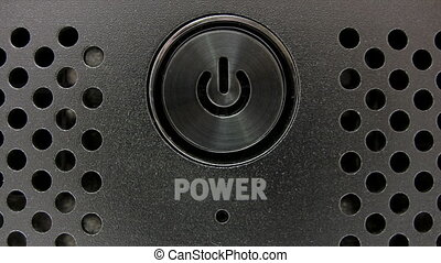 Blue Power Switch - Canon HV30. HD 16:9 1920 x 1080 @ 25.00...