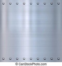 riveted metal background