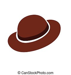 Vector illustration hat - Vector stylized image of a hat...