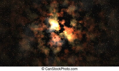 Through the nebula to the Central S - Accumulation in the...