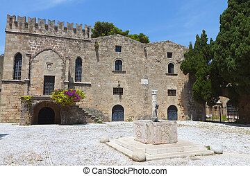 Medieval city of Rhodes island