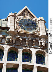 Quebec City Railway Station - Detail of Gare du Palais, the...