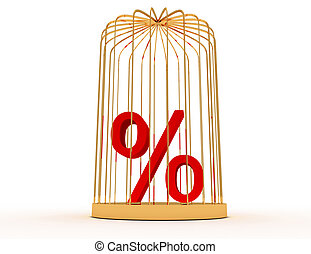 3d percent in cage