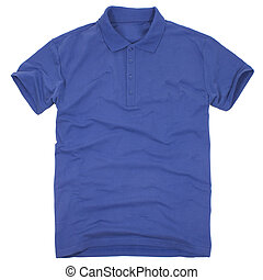 Polo shirt isolated on white background - Polo shirt...