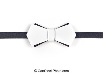 bow-tie - Black and white bow-tie makes you elegant and...
