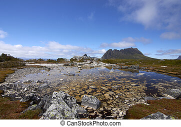 Cradle Mountain is a mountain in the Cradle Mountain-Lake St...