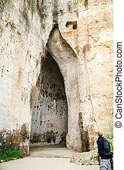 Ear of Dionysius, Syracuse, Sicily