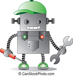 Handy Man - A repair bot ready for the job!
