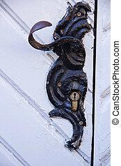 Door handle - Old door handle