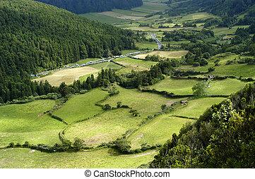 azores natural landscape
