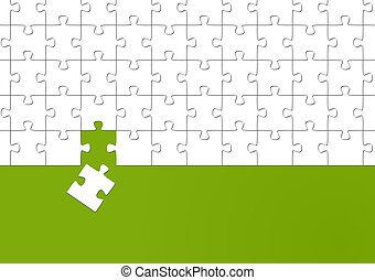 the matching puzzle piece
