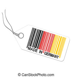 Hangtag with MADE IN GERMANY