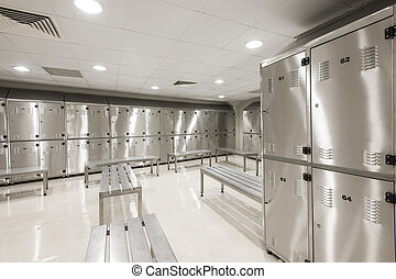 Student Lockers University School Campus Hallway Storage Locker