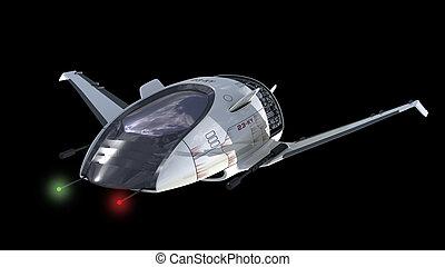 Surveillance drone design - Drone design of alien spacecraft...