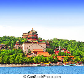 Summer Palace in Beijing, China - Imperial Summer Palace in...