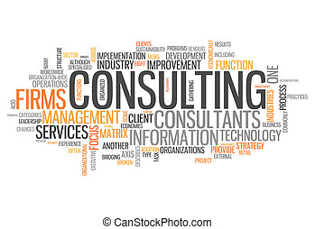Word Cloud Consulting - Word Cloud with Consulting related...