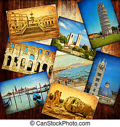 Italy - Collage of Italy