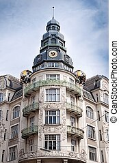 Palais des beaux arts in Vienna - In this building houses...