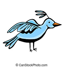 Blue Bird - An image of a blue bird.