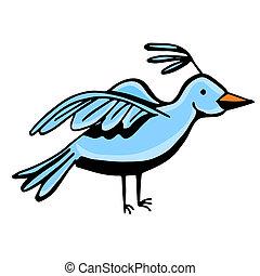 Blue Bird - An image of a blue bird.