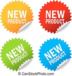 New product sticker