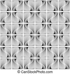 Design seamless decorative geometric pattern. Abstract...