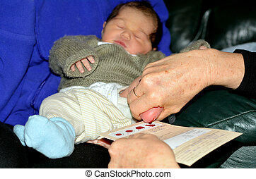 Newborn Metabolic Screening test - AUCKLAND - JUNE 09...
